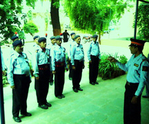 security guard training manual in hindi